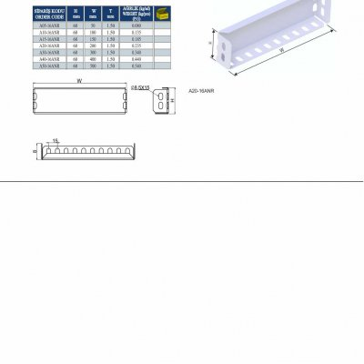 16_H60 K Series Cable Trays Pregalvanised Reducing Angles Fixing Bends
