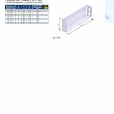 16_H80 K Series Cable Trays Pregalvanised Reducing Angles Fixing Bends