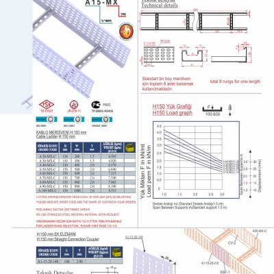 1_H150 C Type Cable Ladders