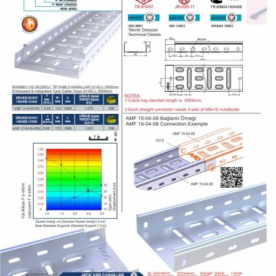 4 H40 W150 T08_Embossed & Integrated Cable Trays