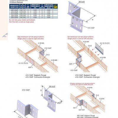 5_H100 M Series Cable Ladder Reducers