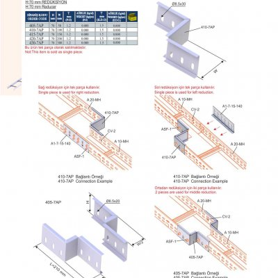 7_H70 M Series Cable Ladder Reducers